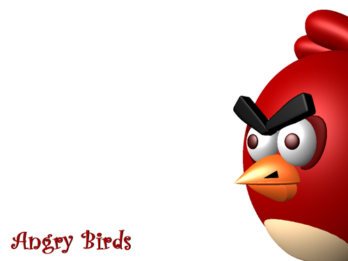 angry birds wallpaper entitled Angry Bird