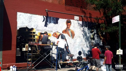 At Bedford Ave & Grand St. in Williamsburg, Brooklyn