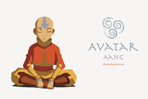 Avatar Aang wallpaper possibly with anime entitled Avatar Aang
