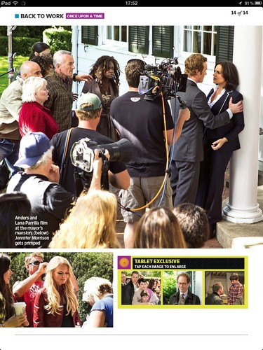 Behind the scenes fotografias from Entertainment Weekly