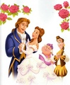 Belle and Adam - beauty-and-the-beast photo