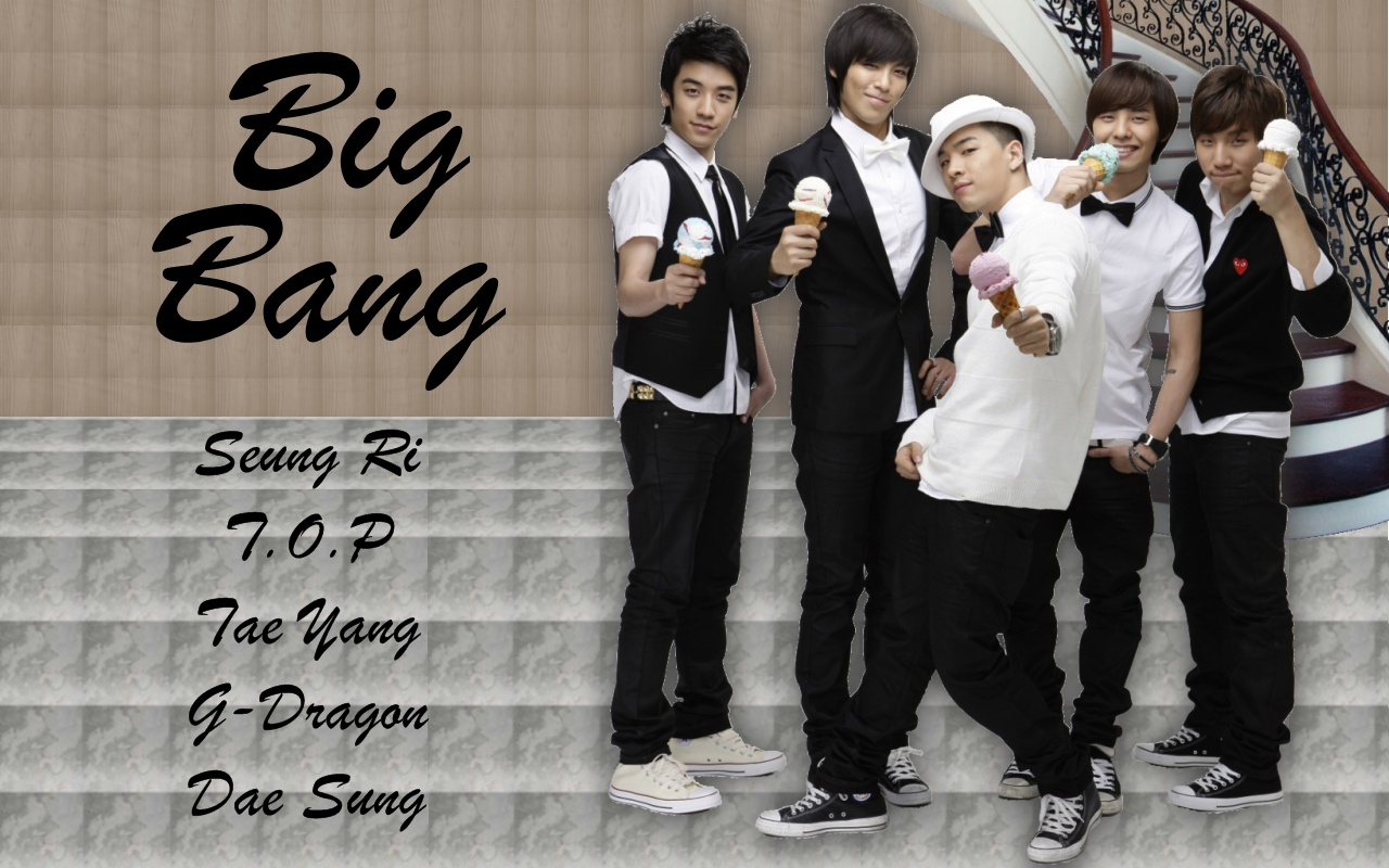 Big Bang Korean Band