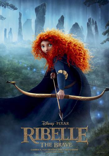 Ribelle - The Brave Italian Poster