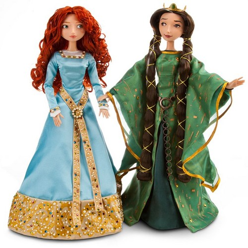 Merida and Elinor Limited Edition muñecas