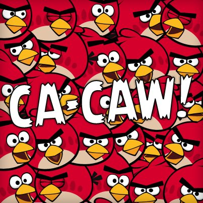 Angru Birds wallpaper possibly containing Anime entitled CA-CAW!