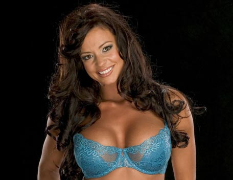 Candice Michelle achtergrond possibly with a brassiere, an uplift, and attractiveness called Candice Michelle Photoshoot Flashback