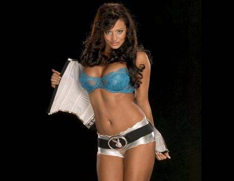 Candice Michelle 壁纸 probably containing a brassiere, a lingerie, and a bikini entitled Candice Michelle Photoshoot Flashback