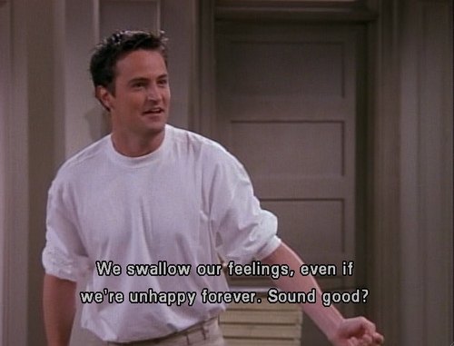 Friends Quotes Joey Why God Why : Chandler bing fan art  fanpop