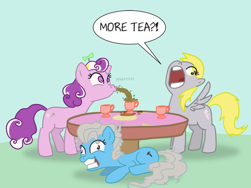 Derpy Hooves and Screwball Dump