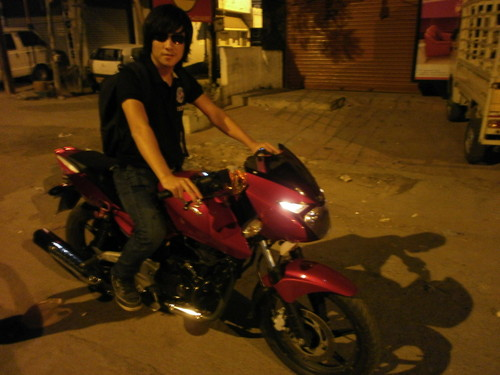 Lee Min Ho hình nền with a motorcycle cop and a motor scooter titled Dominic As Jeong