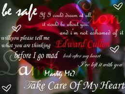 Edward Cullen 名言・格言