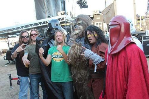 Evanescence & bintang Wars