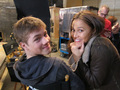 Falling Skies BTS - Connor & Moon - falling-skies photo