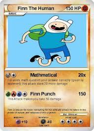 Finn Pokemon Card