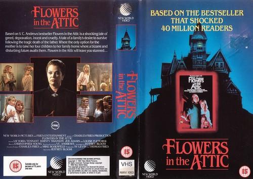 Blumen in the attic VHS