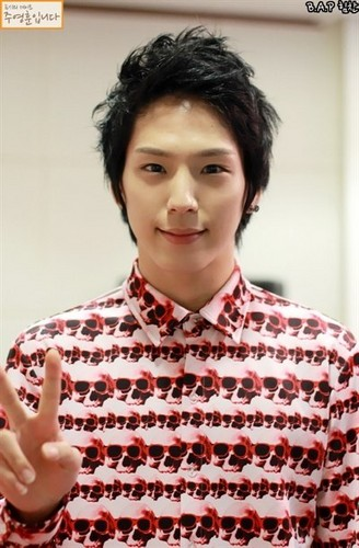 Himchan wallpaper probably with a quimono entitled Himchan