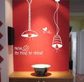 It is Time to Shine with light Wall Sticker