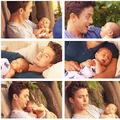 Jackson with his baby - twilight-series photo