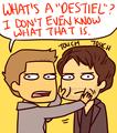 Jensen/Misha Drawing