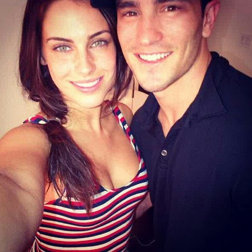Jessica and boyfriend Jeremy Bloom!