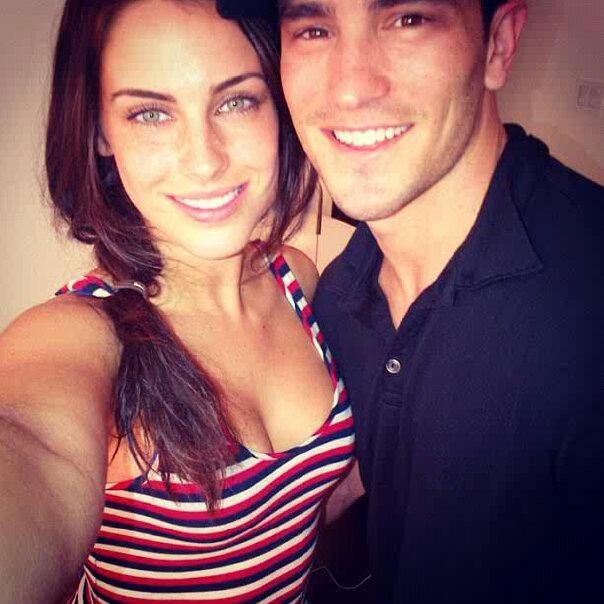 Jessica and boyfriend Jeremy Bloom!