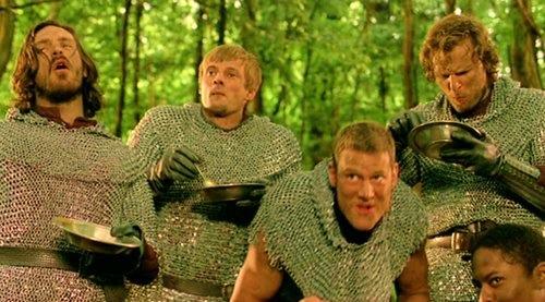 Knights Gourmandizing