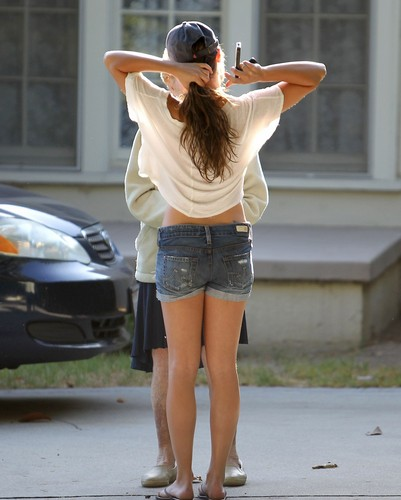 Lea Out In West Hollywood - August 20, 2012