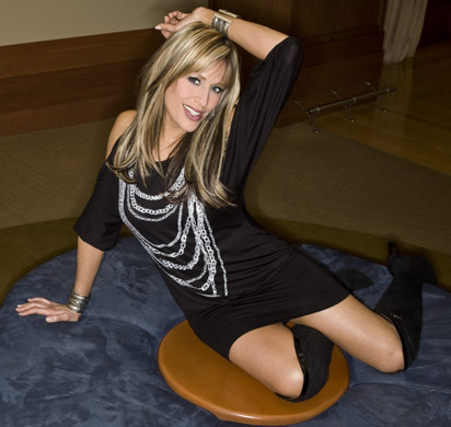 Lilian Garcia wallpaper possibly with bare legs, a leotard, and tights entitled Lilian Garcia Photoshoot Flashback