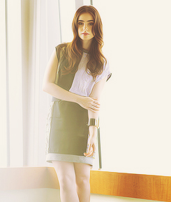"Lily Collins | ""Figaro"" Photoshoot, 2012"