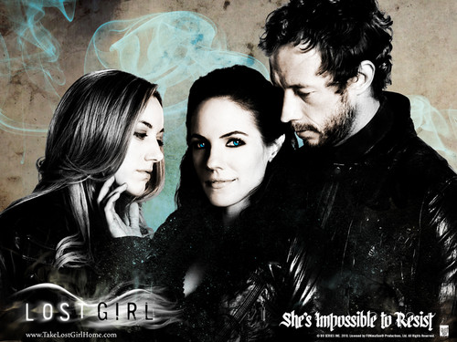 Lost Girl wallpaper probably with a portrait entitled Lost Girl Wallpaper