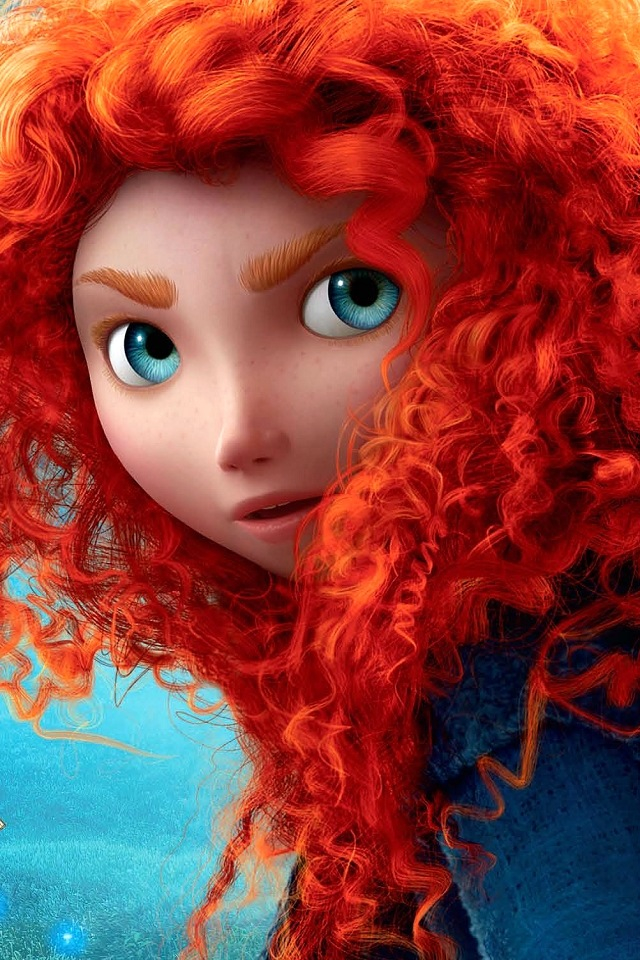 It is an image of Genius Pictures of Merida From Brave