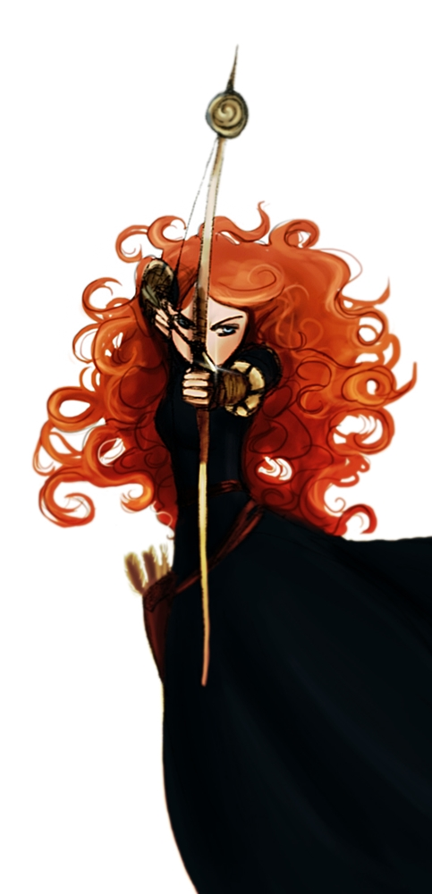 Merida Brave Fan Art 32090544 Fanpop