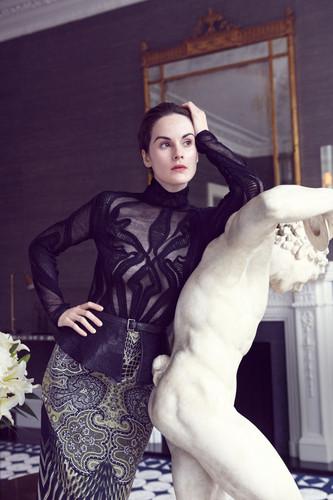 Michelle in Harpers Bazaar