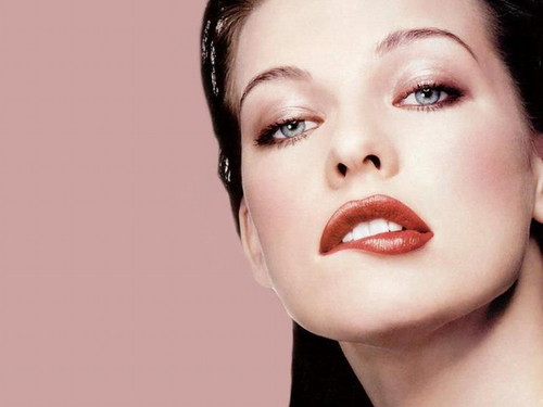 milla jovovich wallpaper possibly containing a portrait called Milla