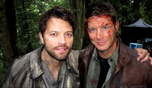 Misha & Jensen - SPN S8 বাংট্যান বয়েজ