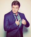 Nathan Fillion EW Magazine