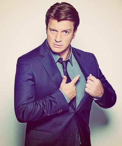 Nathan Fillion fond d'écran with a business suit, a suit, and a double breasted suit called Nathan Fillion EW Magazine