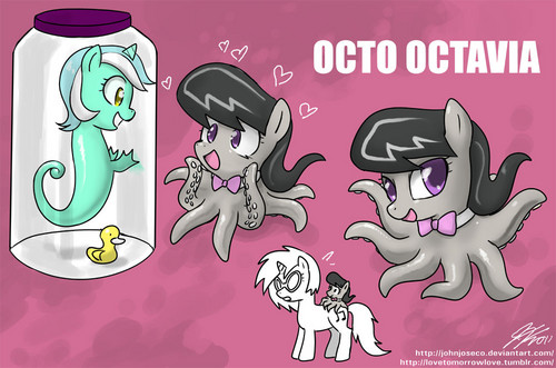 Octavia and Vinyl Dump
