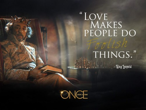 Once Upon A Time wallpaper with a sign called Official OUAT character quote Photos