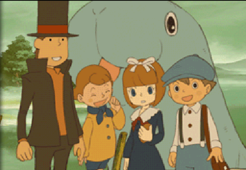 Professor Layton and the Spectator's Flute
