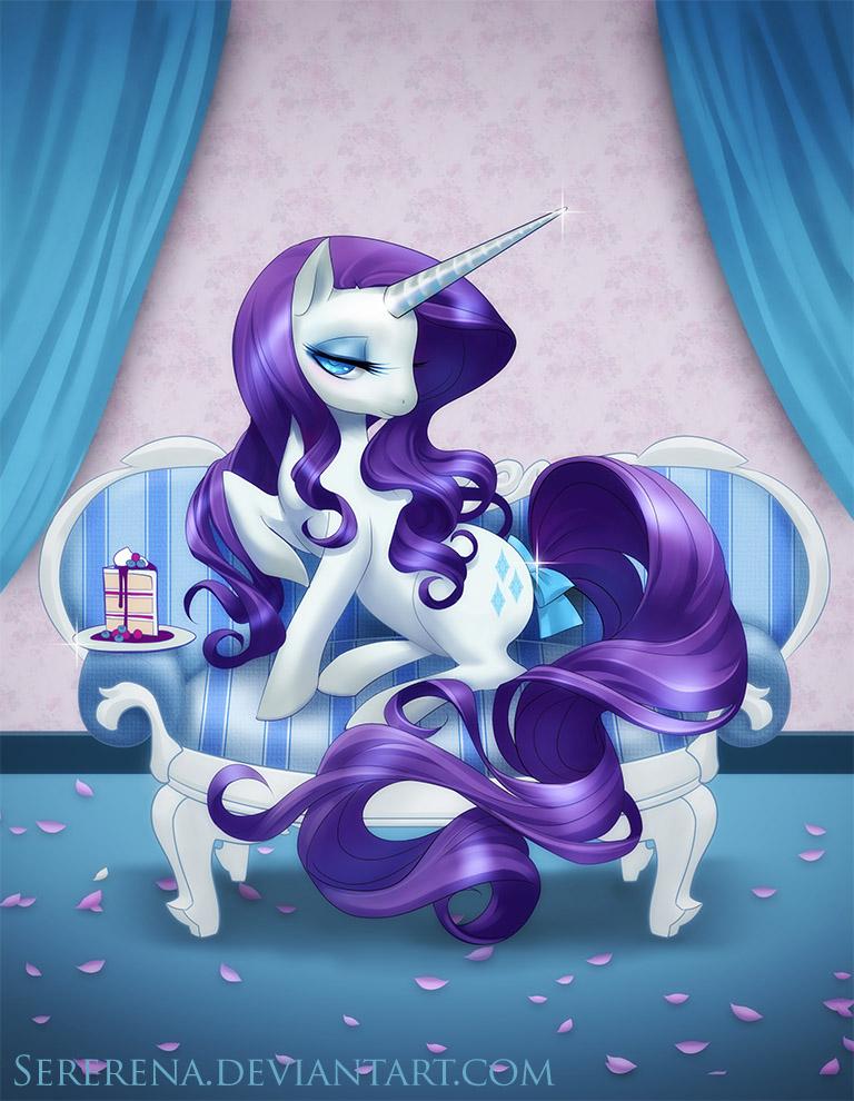 Rarity My Little Pony Friendship Is Magic Fan Art