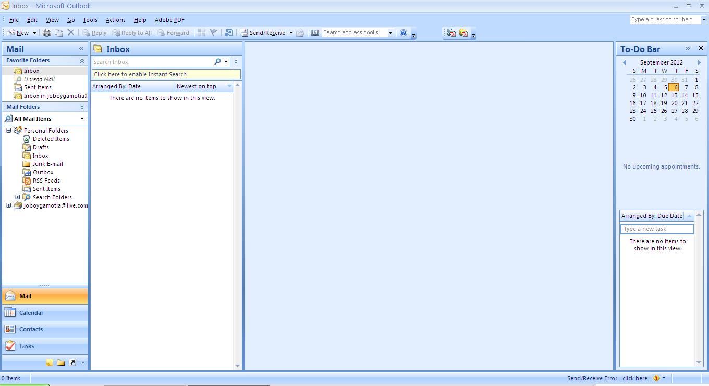 Microsoft Office Window Vista