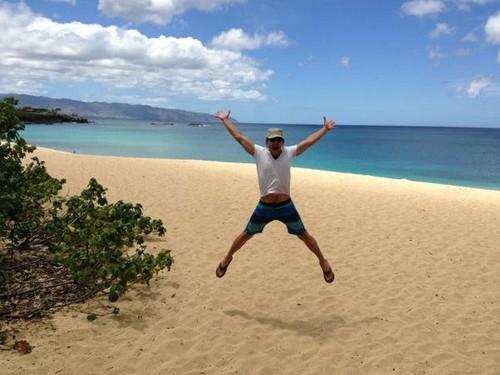 Seb in Hawaii