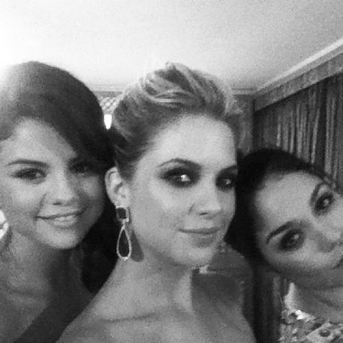 Selena Gomez, Ashley Benson and Vanessa Hudgens
