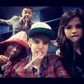 Selena Gomez, Justin Bieber and Alfredo Flores - selena-gomez photo
