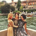 Selena Gomez at Venice with Springbreakers Cast!