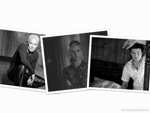 Spike , Buffy & Angel
