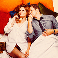 Stana and Nathan photoshoot