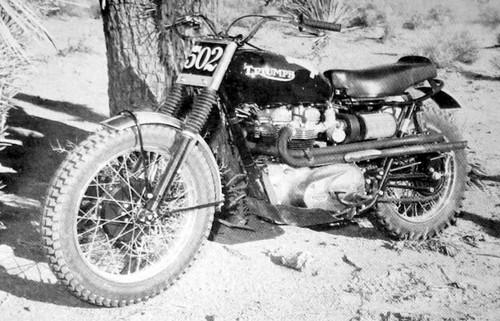 Steve McQueen's Triumph Bonneville