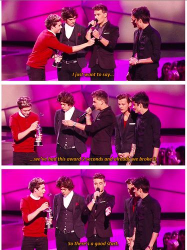 The 1D VMA Win 2012